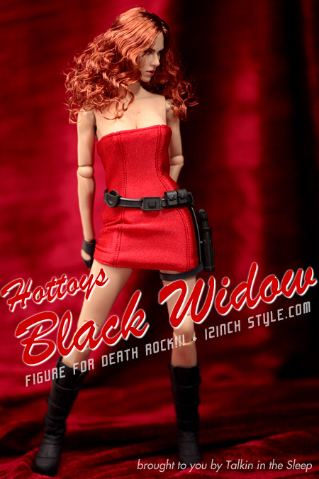 HOTTOYS BLACK WIDOW