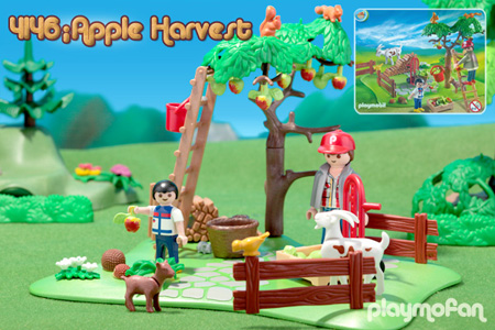playmobil 4146 Apple Harvest