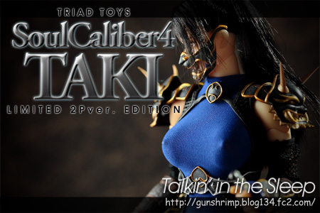 TRIAD TOYS SOULCALIBER4 TAKI
