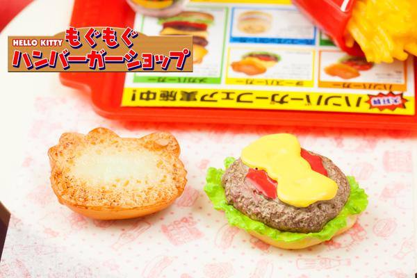 HELLO KITTY もぐもぐハンバーガーショップ
