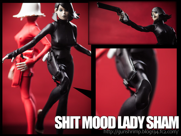 THREE A SHIT MOOD LADY SHAM