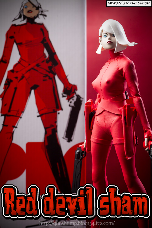 POPBOT RED DEVIL SHAM