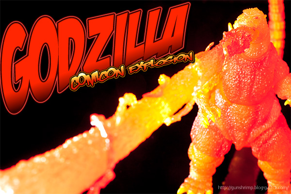 Godzilla ComiconExplosion border=