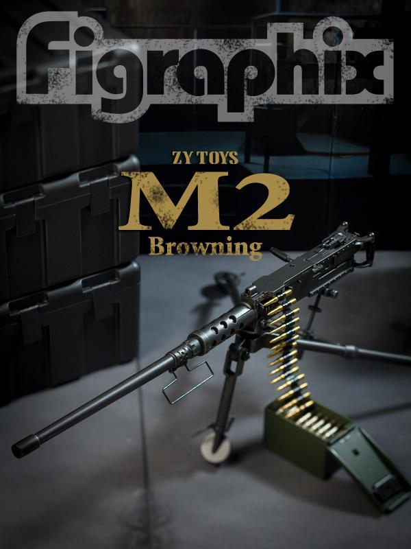 ZY TOYS ブローニングM2